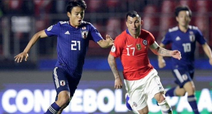 Japan 0-1 Chile copa america kubo