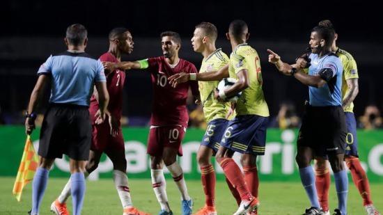 Colombia 1_0 Qatar Copa América 2019