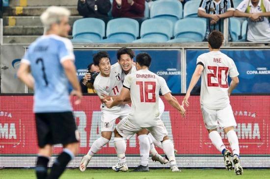 Uruguay 2-2 Japan Koji Miyoshi goals