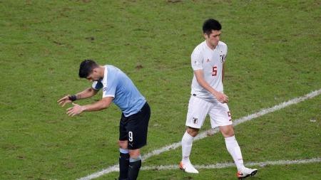 Uruguay 2-2 Japan copa america 2019