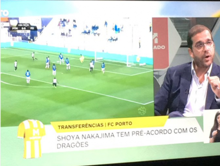 Shoya Nakajima has pre agreement to join FC Porto on loan at Porto Canal