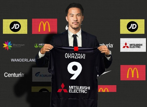 Okazaki as a potential marquee for WSW, Vic or WU