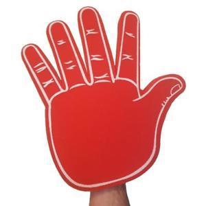 big foam hands