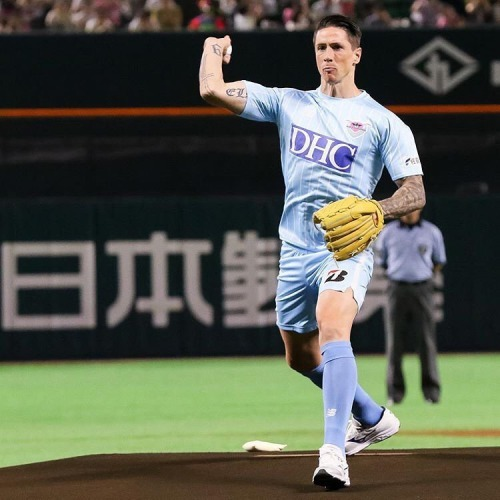 Ceremonial First Pitch by Fernando Torres