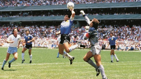 Maradona on Hand of God