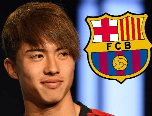 Hiroyuki Abe is now an FC Barcelona player