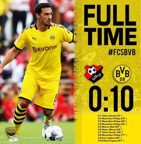 dortmund 10_0 FC Schweinberg Kagawa goal (Pre Season Friendly)