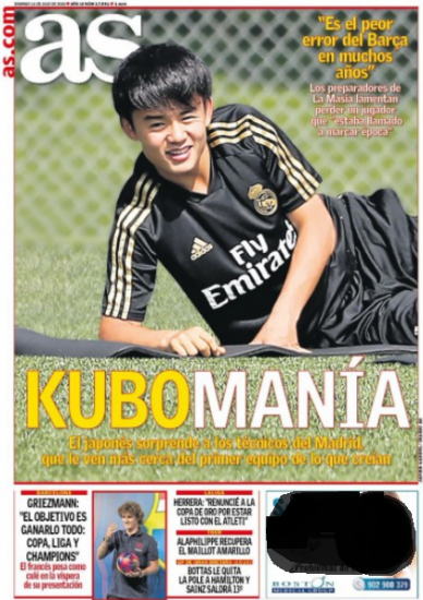 Kubomanía as front page
