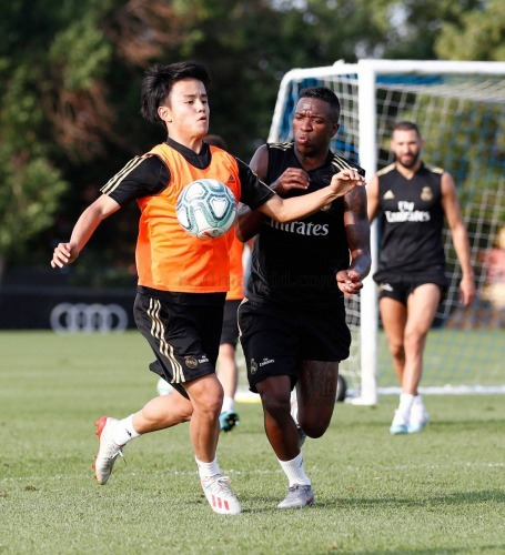 Look at what Takefusa Kubo did to Keylor Navas in training