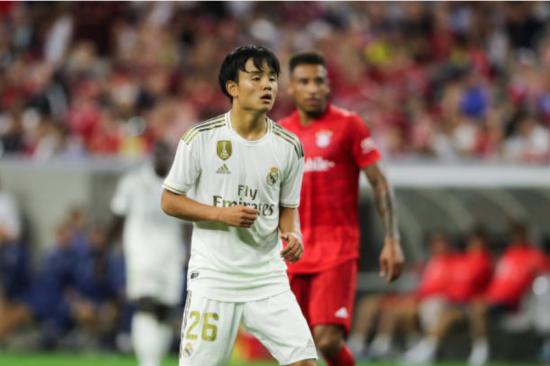 Bayern München 3-1 Real Madrid kubo takefusa