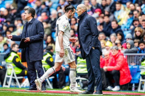 Gareth Bale could be on his way to China as Real Madrid career nears end