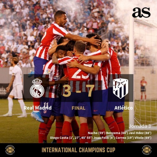 Real Madrid 3-7 Atlético Madrid