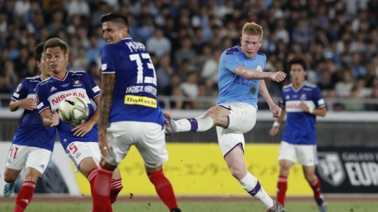 Yokohama F Marinos 1-3 Man City JapanEuro cup