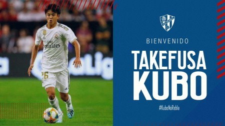 fake new Takefusa Kubo is going on to SD Huesca
