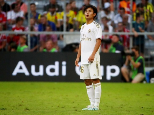 Kubo takefusa at Audi Cup 2019