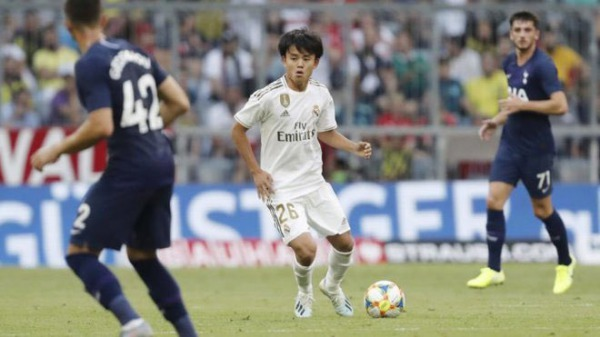 Zidane has confirmed at the press conference that Kubo will play with Castilla but train with the first team