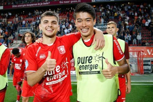 Twente 1-1 PSV Keito Nakamura goal