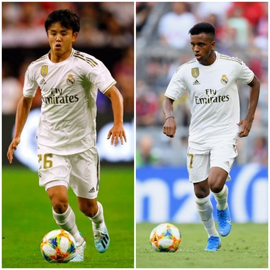 Real will now add Rodrygo, Vinicius, Militao in their non-EU spots marca not kubo