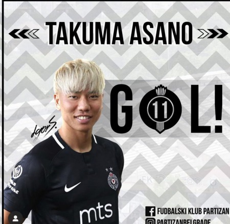 Aasano takuma to Partizan