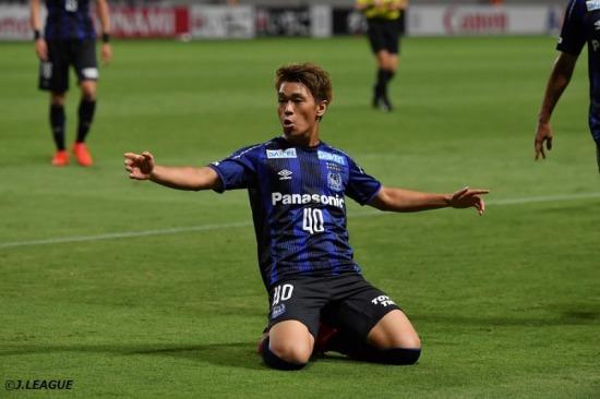 Manchester City signed Ryotaro Meshino from Gamba Osaka