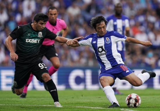 Shoya Nakajimas forgettable debut in Portos shock Champions League exit