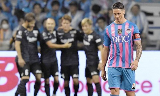 Fernando Torres suffers humiliating 6-1 defeat in his last-ever game