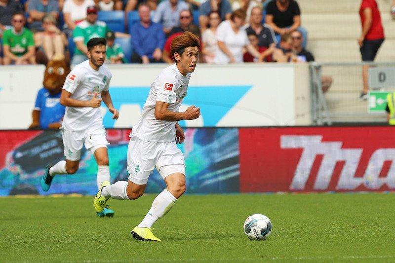 Hoffenheim 2-[2] Werder Bremen Yuya Osako goal