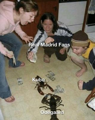 Mallorca kubo vs Real Sociedad Ødegaard