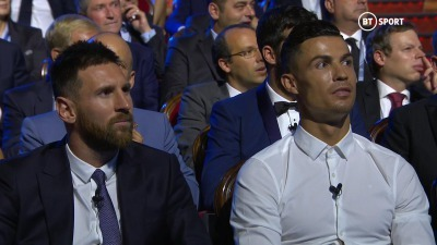 Messi and Ronaldos reaction to Eric Cantonas speech