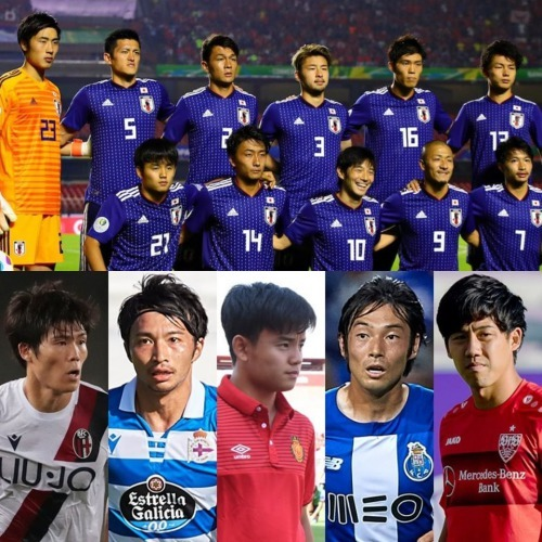 SAMURAIBLUE 23 man squad for the upcoming vs Paraguay and Myanmar