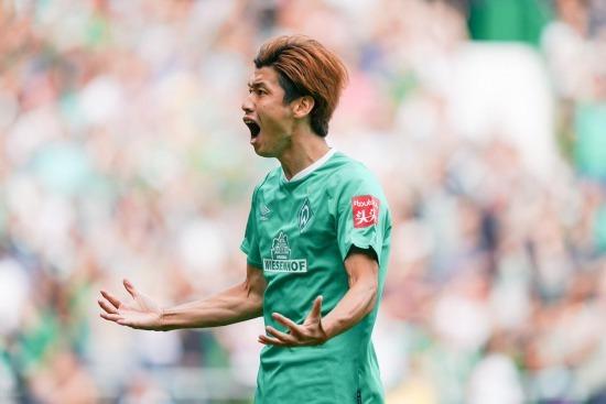 Werder Bremen 3 Augsburg 2 Osako goal