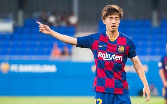 FC Barcelona B vs Nastic Hiroki Abe debut