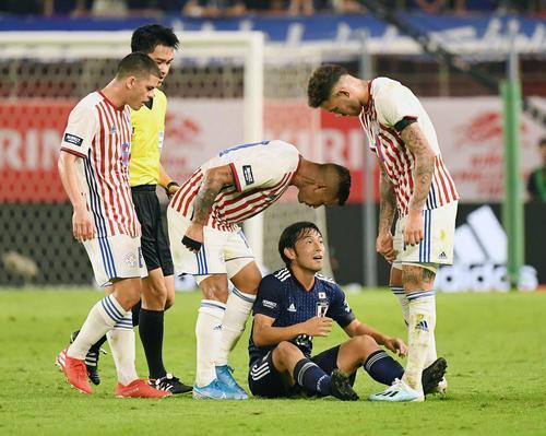 Shoya Nakajima (Japan) skill vs Paraguay