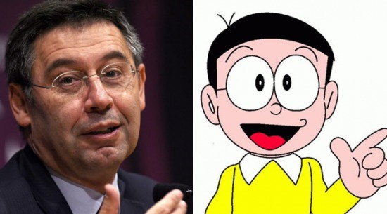 Bartomeu sues youtuber because he called him Nobita