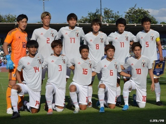 U-22 CONCACAF tour MEXICO 0-0 JAPAN