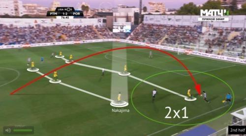 Portimonense 2-2 Porto Anzai goal