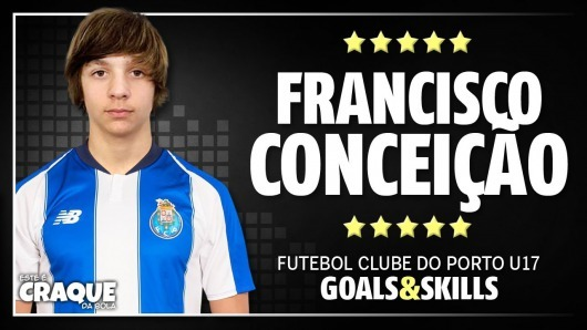 FC Portos Managers kid, Francisco Conceição (16yo) an awful lot like Messi
