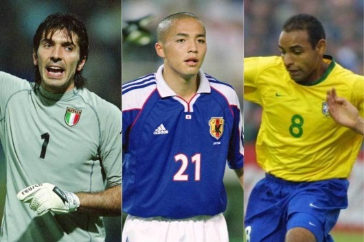 Etoo retiring leaves players from the 1998 World Cup still active Buffon Lee Dong-gook Shinji Ono (Japan) Abdulghani