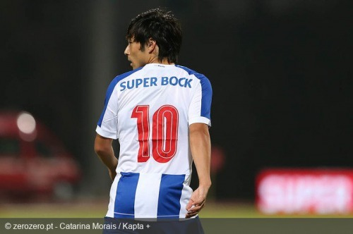 Nakajima participated for the first time in a goal Of Porto (Assistance)