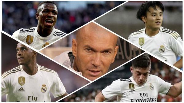 Rank Real Madrid Vinicius Rodrygo Ødegaard Kubo Brahim