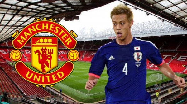 Keisuke Honda offers himself to Manchester United with bizarre plea on Twitter
