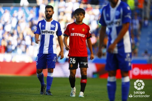 Kubo Takefusa against vs Alavés 0_2