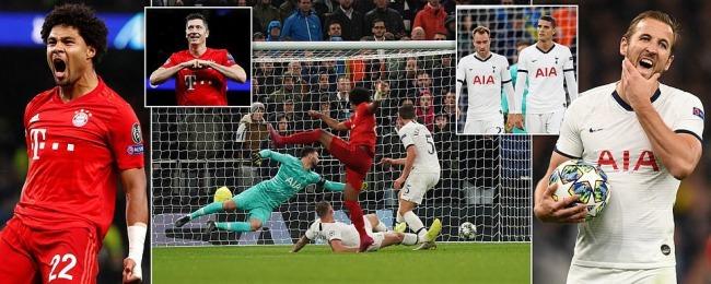 Tottenham Hotspur 2-7 Bayern Munich UCL