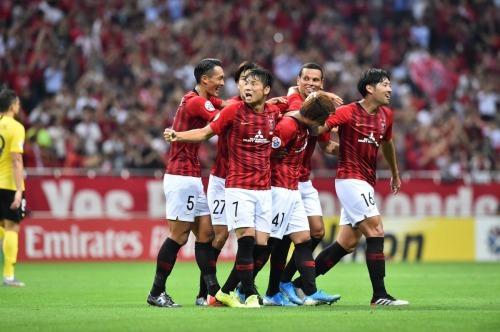 Urawa Reds [2] - 0 Guangzhou Evergrande Takahiro Sekine goal