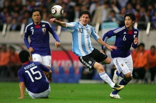 2010 JAPAN 1-0 ARGENTINA messi