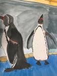 作品ペンギン大