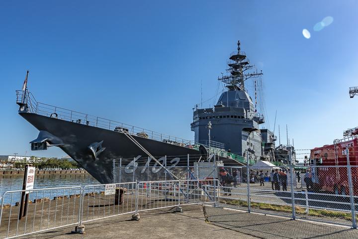 ASE-6102 試験艦あすか 艦首より艦全容