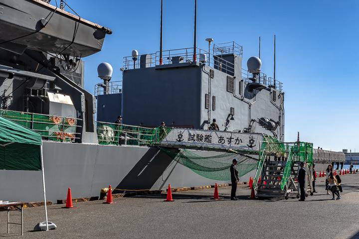 ASE-6102 試験艦あすか 一般見学者用舷門舷梯