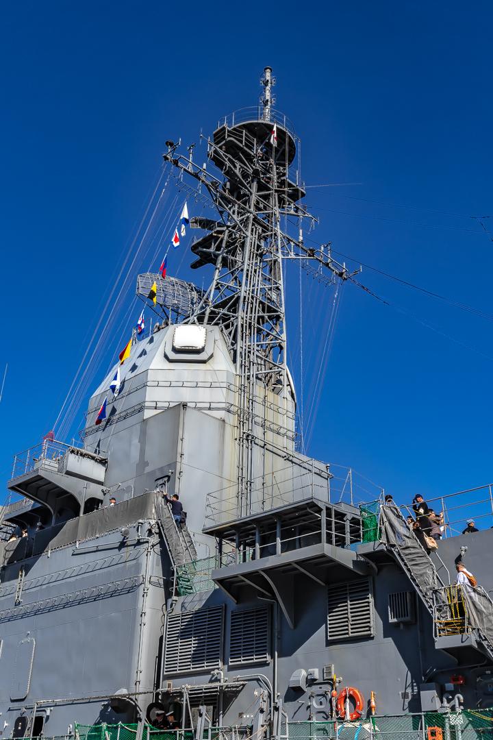 ASE-6102 試験艦あすか 上部構造物メインマスト