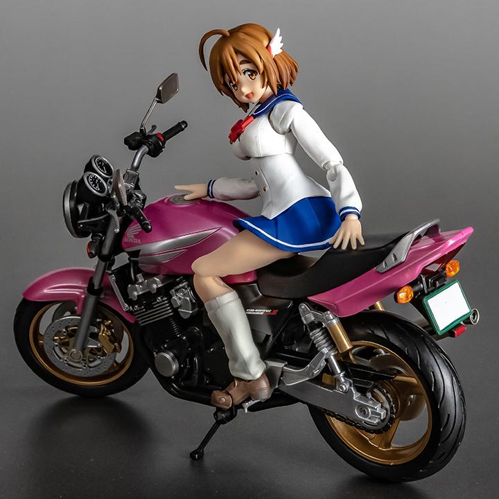 佐倉羽音&HONDA CB400 SUPER FOUR ホンダ スーフォア